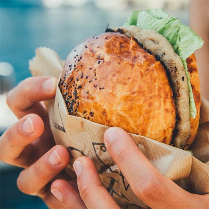 Balık Burger / Fish Burger QR Online Menü
