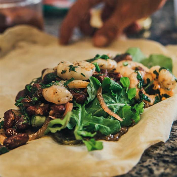 Karides Dürüm / Shrimp Roll QR Online Menü