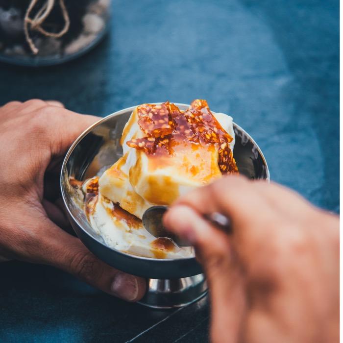 Tahinli Dondurma/Tahini ice cream QR Online Menü
